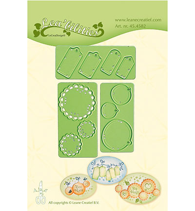 45.4582 Leane Creatief Little Banners & Labels