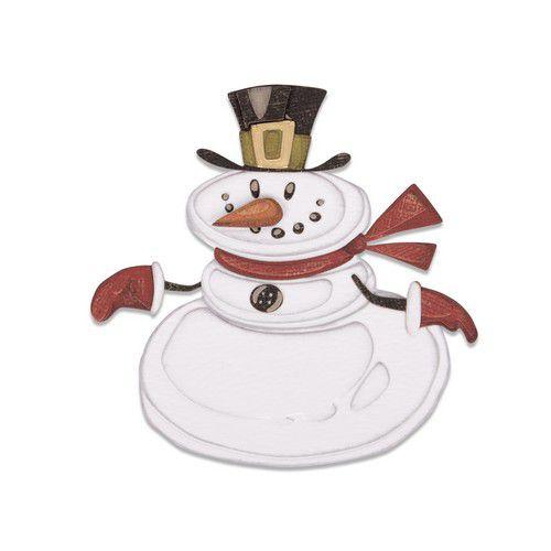 664230 Sizzix Thinlits Die set  Mr. Snowman Colorize by Tim Holtz 11PK