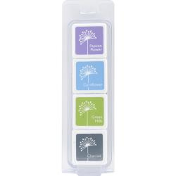 053848  Hero Arts Dye Ink Cubes 4 Colors Field Notes