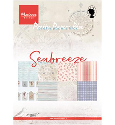 PK9156  Pretty Papers Blocks Seabreeze A5