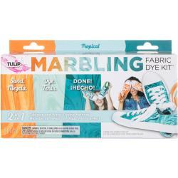 431074 Tulip Marbling Fabric Dye Kit Tropical
