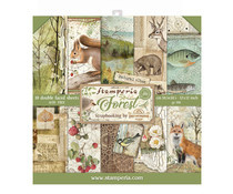 SBBL63 Stamperia Forest 12x12 Inch Paper Pack