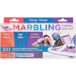 431073 Tulip Marbling Fabric Dye Kit Primary
