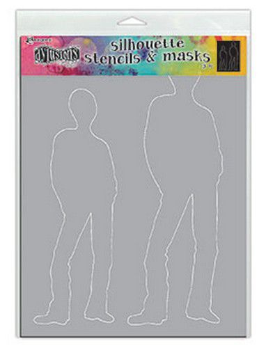 DYS75370 Ranger Dylusions Stencils Silhouette Tom