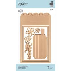 S4997 Spellbinders Amazing Paper Grace Shapeabilities Dies Adorned Notepad