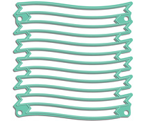 LDRS8158 LDRS Creative Wave Ribbon Stack Dies