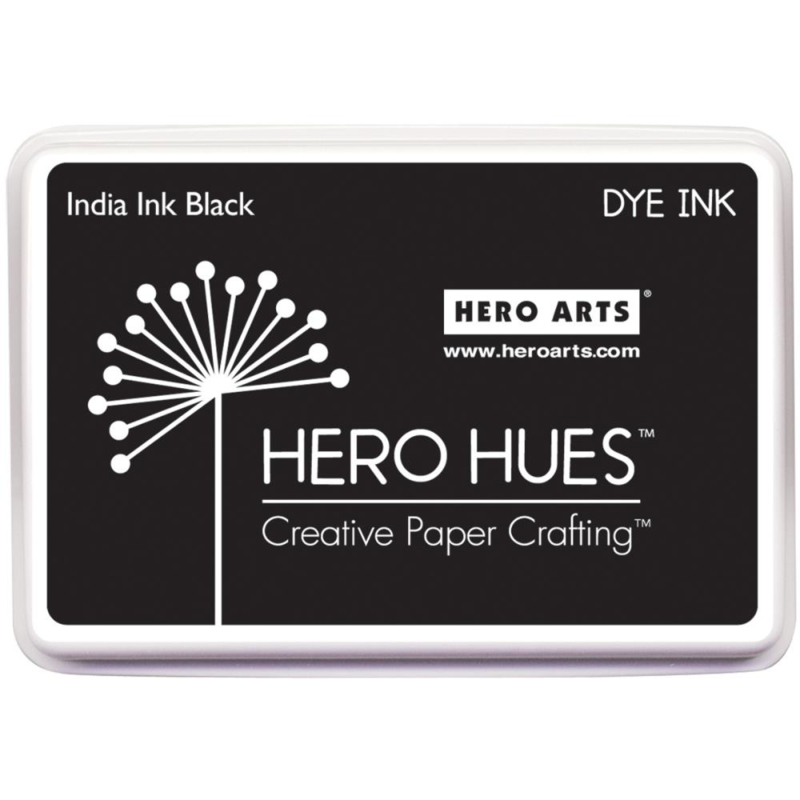 081868 Hero Arts Dye Ink Pad India Black
