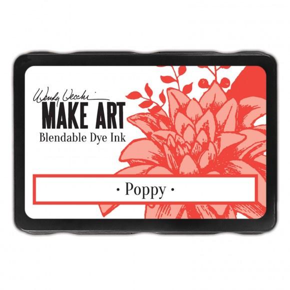 WVD62622 Wendy Vecchi Make art blendable dye ink pad poppy