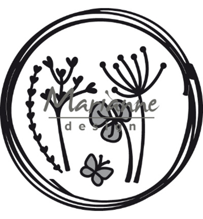 CR1468 craftables Doodle circle