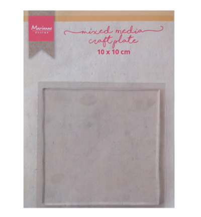 LR0017 Mixed Media craft plate square