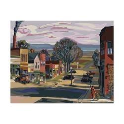 "352771 Paint By Number Kit  Secrets Parkville Main Street 16""X20"""
