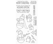 My Favorite Things Toasty Greetings Clear Stamps