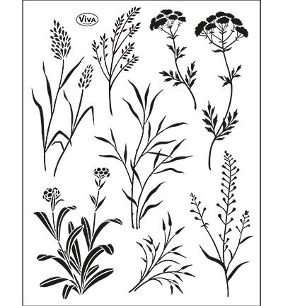 Stempel Frühling 4003.152.00 Clearstamp   von ViVa Decor