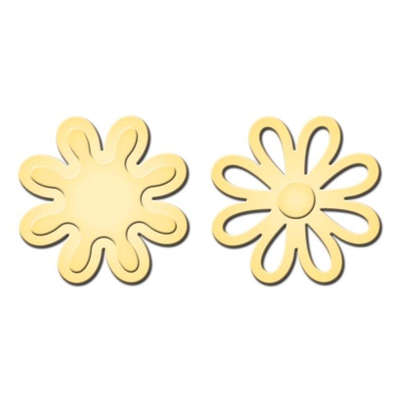 S2130 Spellbinders Shapeabilities Die D-Lites Pretty Petals A