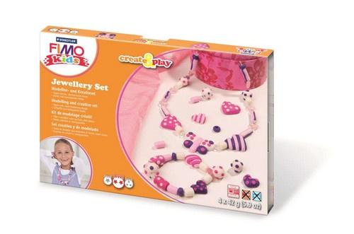 610224/8301 Fimo kids Create&Play Jewellery Hearts