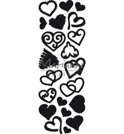 CR1460 Marianne Design Craftables Punch die Sweet Hearts
