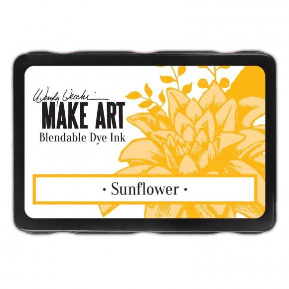 WVD62653 Wendy Vecchi Make art blendable dye ink pad sunflower