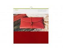 2004017 Cricut Cranberry 12x12 Inch Genuine Leather