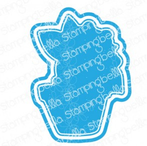 565561 Stamping Bella Cut It Out Dies Peony Baby In Pot