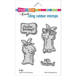 560377 Stampendous Cling Stamp No Probllama