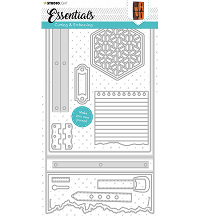 STENCILSL342 Studio Light Cutting Die Essentials nr.342
