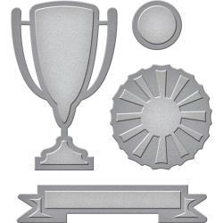 S3280 Spellbinders Shapeabilities Die D-Lites Trophy