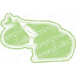 584744 Stamping Bella Cut It Out Dies Traveling Gnome