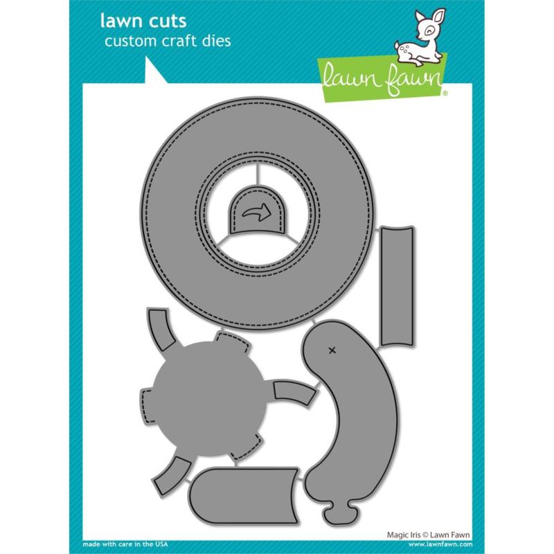 LF2238 Lawn Cuts Custom Craft Die Magic Iris