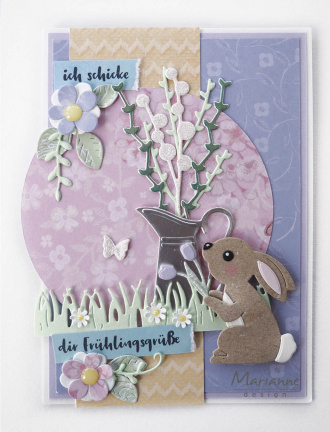 CR1498 Marianne Design Craftables Bunny by Marleen