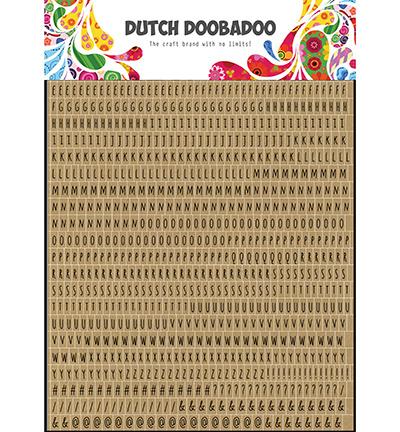491.200.019  Dutch DooBaDoo Dutch Sticker Art Alphabet