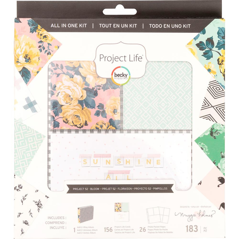 248429 Project Life All-In-One Album Kit Becky Higgins Bloom Edition