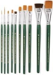 269095 One Stroke Brush Set 10 st.