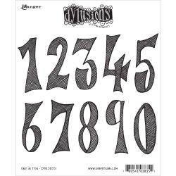 360195 Dyan Reaveley's Dylusions Cling Stamp One In Ten