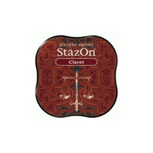 SZM-23 Tsukineko Stazon Midi Ink Pad Claret