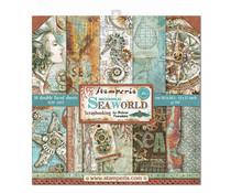 SBBL64 Stamperia Sea World 12x12 Inch Paper Pack