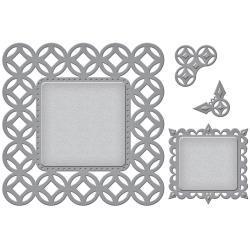 S6055 Spellbinders Nestabilities Decorative Elements Dies Circle Contempo