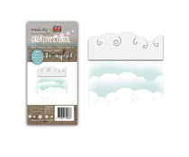 PD8096 Polkadoodles Snow Clouds Layer Stencil