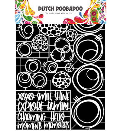 472.948.052 Dutch DooBaDoo Dutch Paper Art Circles