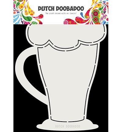 470.713.819 Dutch DooBaDoo Card Art Cappuchino