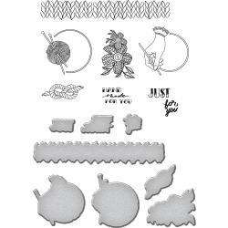 SDS073 Spellbinders Stamp & Die Set Fancy
