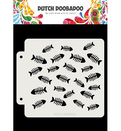 470.715.159 Dutch DooBaDoo Dutch Mask Visgraat