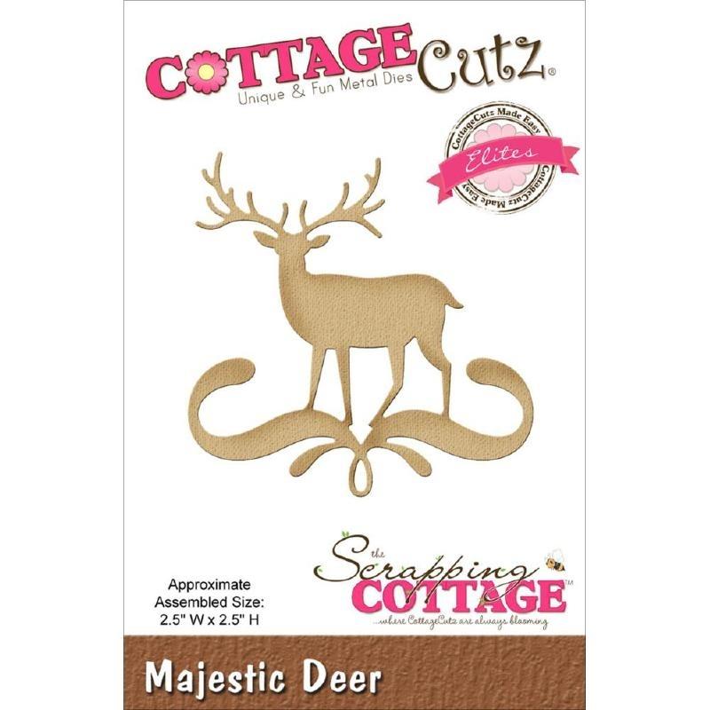 500681 CottageCutz Elites Die  Majestic Deer
