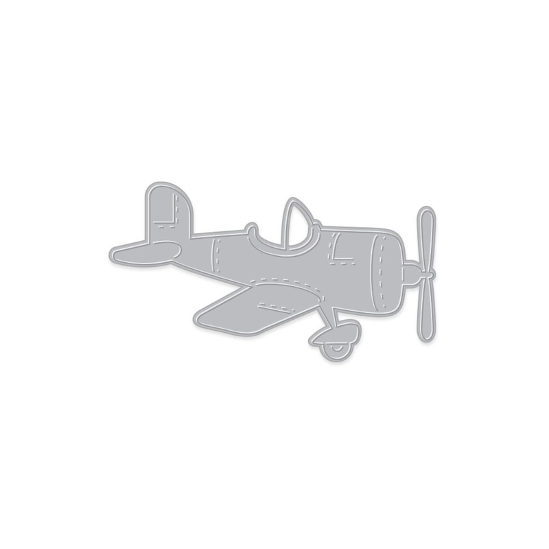 630755 Hero Arts Fancy Dies Airplane