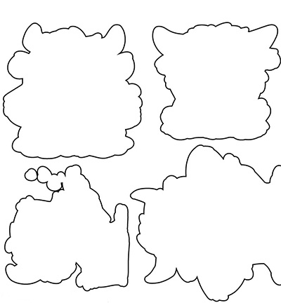 OD89 C.C.Designs Outline Die Abominable