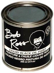 455979 Bob Ross Oil Paint Black