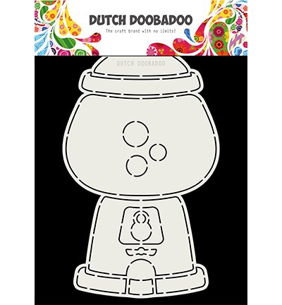 470.713.802 Dutch DooBaDoo Card Art Kauwgomballen automaat