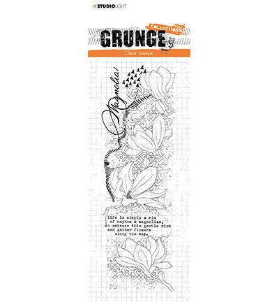 SL-GR-STAMP38 StudioLight Clear Stamp Magnolia Grunge Collection nr.38
