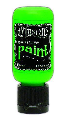 306610/0641 Ranger Dylusions Paint Flip Cap Bottle Sour Appletini 29ml