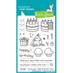 "LF1958 Lawn Fawn Clear Stamps Birthday Before 'n Afters 4""X6"""