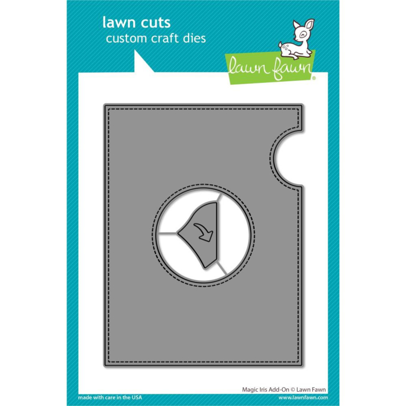 LF2239 Lawn Cuts Custom Craft Die Magic Iris Add-On